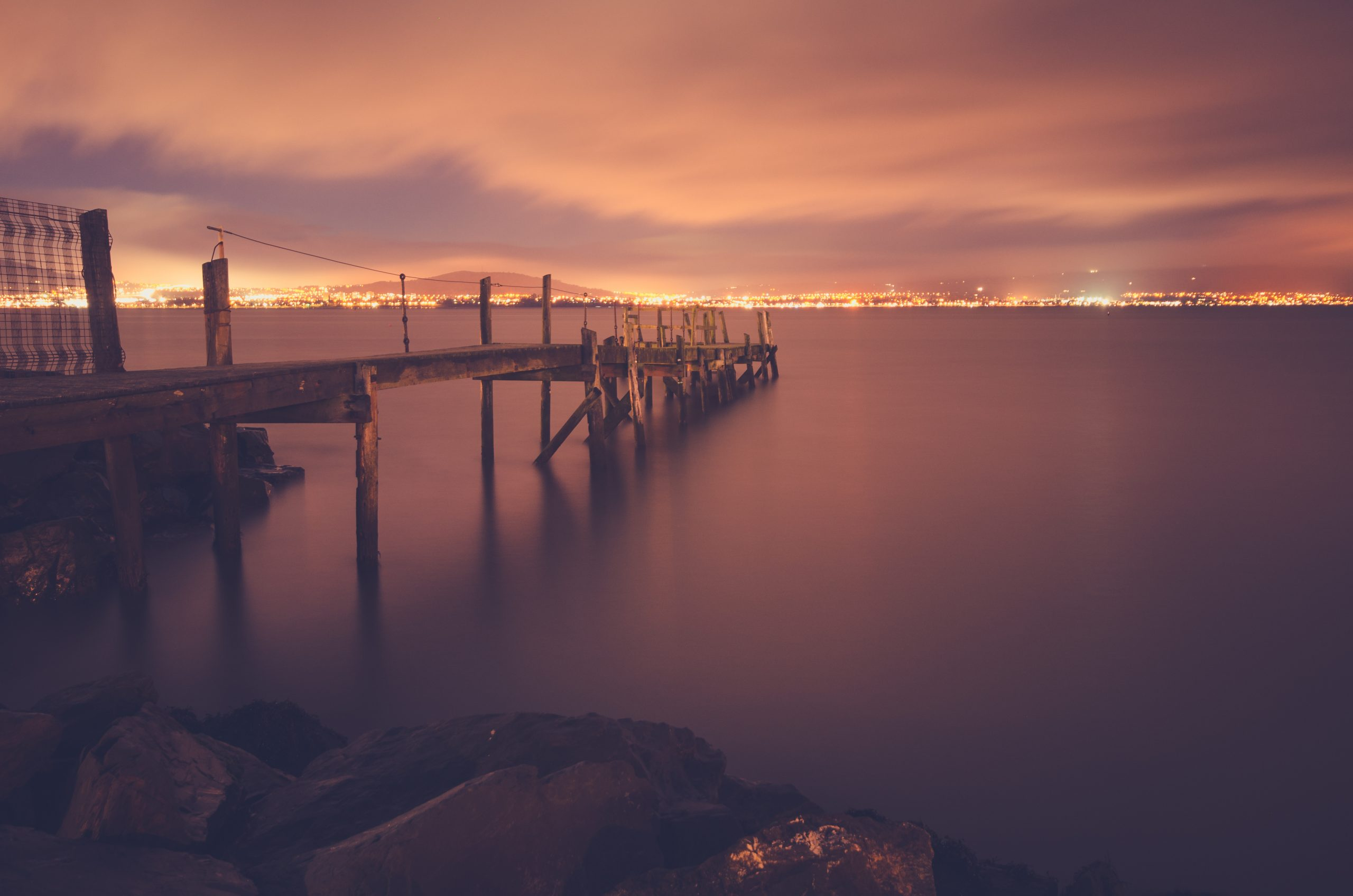 Kinnegar Pier, Holywood, Northern Ireland