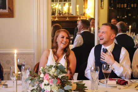wedding speech laughing